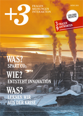 +3 Magazin - Themen: Co2, Innovation und Krise